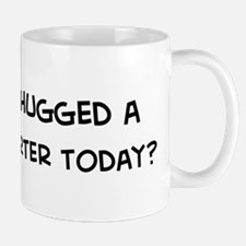 Hugged a Court Reporter Mug