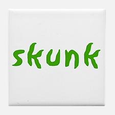 Skunk Tile Coaster