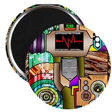 "Robot Monkey 2.25"" Magnet (10 pack)"