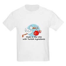Stork Baby Turkey USA T-Shirt