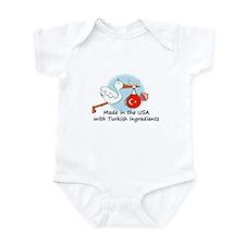 Stork Baby Turkey USA Infant Bodysuit