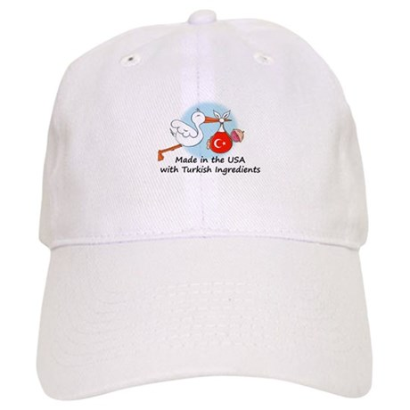 Stork Baby Turkey USA Cap