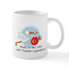 Stork Baby Turkey USA Mug