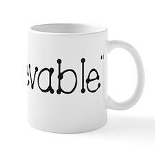 B/W UnBEElievable Mug