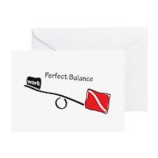 Perfect balance Greeting Card