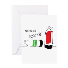 Narcosis rocks Greeting Card