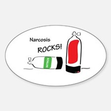 Narcosis rocks Decal