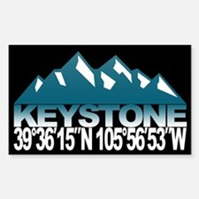 Keystone Colorado Sticker (Rectangle)