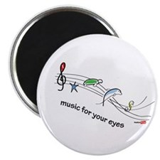 Music for your eyes Magnet