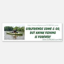 Girlfriends Come & Go - Bumper Bumper Sticker