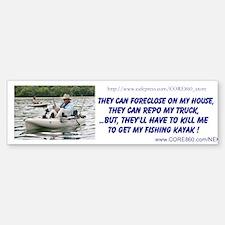 Get My Fishing Kayak - Bumper Bumper Sticker