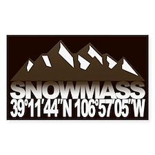 Snowmass Colorado Decal
