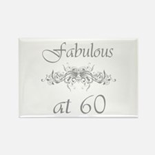 Fabulous At 60 Years Old Rectangle Magnet