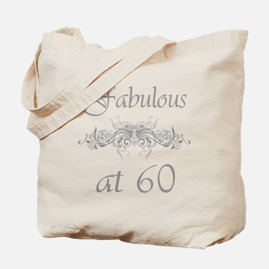 Fabulous At 60 Years Old Tote Bag