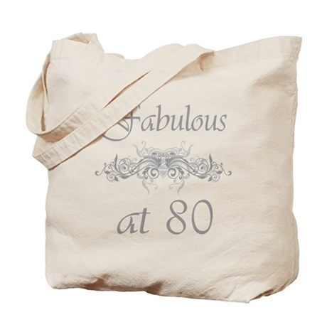 Fabulous At 80 Years Old Tote Bag
