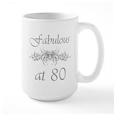 Fabulous At 80 Years Old Mug
