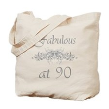 Fabulous At 90 Years Old Tote Bag