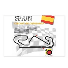 Spanish Grand Prix Postcards (Package of 8)