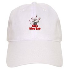 Sofa King Bad Bowling Baseball Cap
