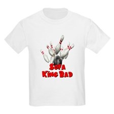 Sofa King Bad Bowling T-Shirt
