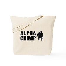 Alpha Chimp Tote Bag