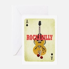 Rock-A-Billy Greeting Card