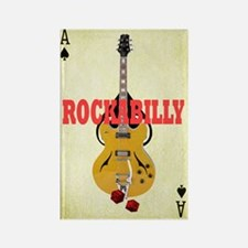 Rock-A-Billy Rectangle Magnet