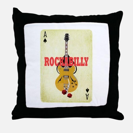 Rock-A-Billy Throw Pillow