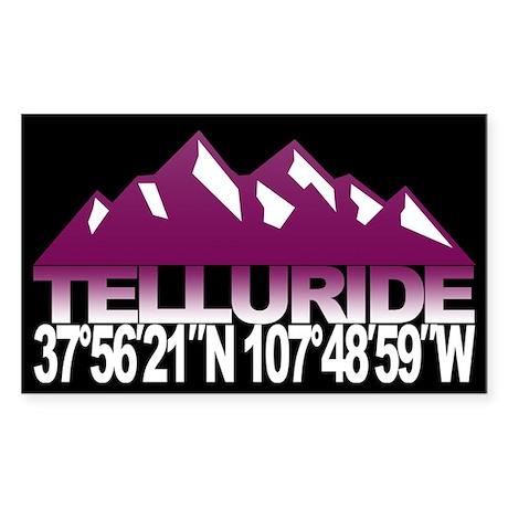Telluride Colorado Sticker (Rectangle)