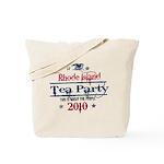 rhode island tea party Tote Bag