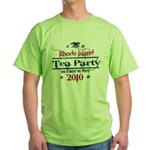 rhode island tea party Green T-Shirt