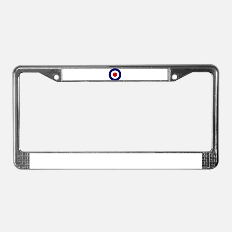 Cute Target License Plate Frame