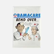 Obamacare: Bend Over! Rectangle Magnet