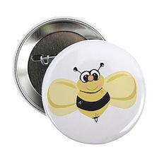 "Cheery Bee Rosey Cheeks 2.25"" Button"