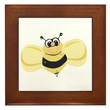 Cheery Bee Rosey Cheeks Framed Tile