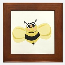 Cheery Bee Rosey Cheeks Framed Tile