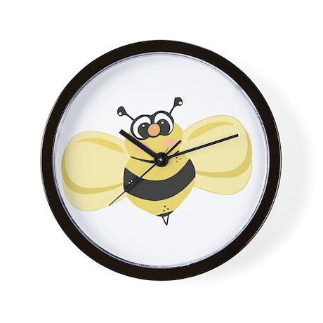 Cheery Bee Rosey Cheeks Wall Clock