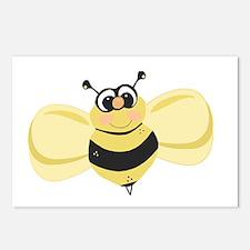 Cheery Bee Rosey Cheeks Postcards (Package of 8)