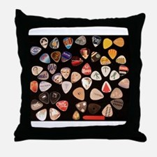 Pickin 2 Throw Pillow