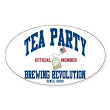 TEA PARTY BREWING REVOLUTION Decal