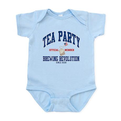 TEA PARTY BREWING REVOLUTION Infant Bodysuit