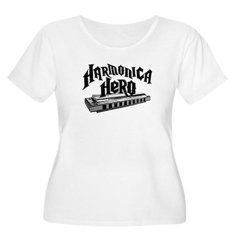 Harmonica Hero Women's Plus Size Scoop Neck T-Shir