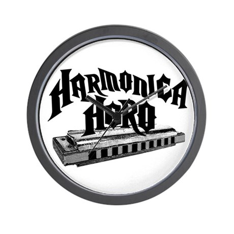 Harmonica Hero Wall Clock