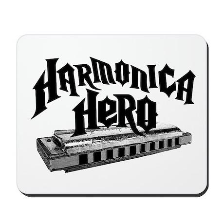 Harmonica Hero Mousepad