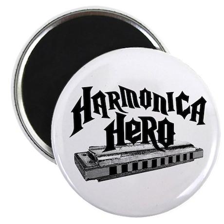 Harmonica Hero Magnet