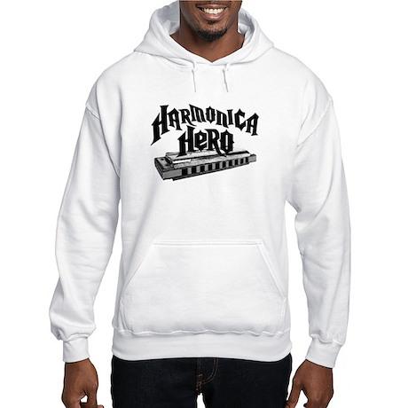 Harmonica Hero Hooded Sweatshirt