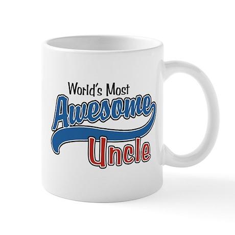 World's Most Awesome Uncle Mug