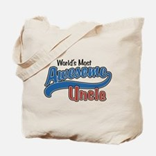 World's Most Awesome Uncle Tote Bag