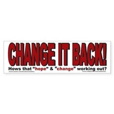 Political Bumper Stickers Car Sticker