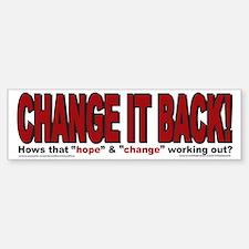 Political Bumper Stickers Sticker (Bumper)